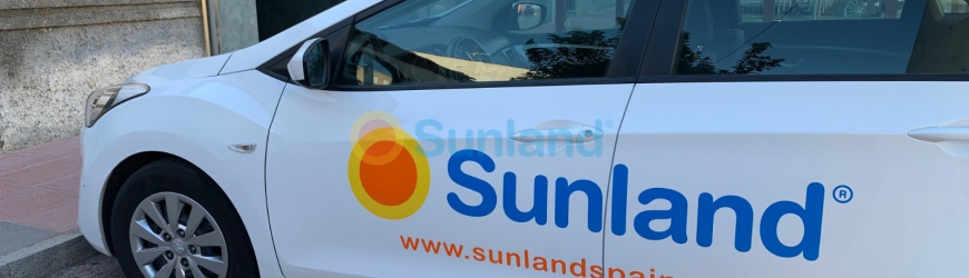 New car advertising for Sunland